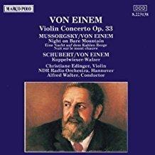 Von Einem – Violin Concerto, Op. 33 – Christiane Edinger