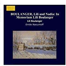 Lili Boulanger – In Memoriam Lili Boulanger SS