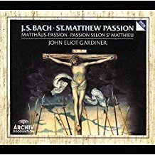 J.S. Bach – St. Matthew Passion – John Eliot Gardiner (3 CDs)