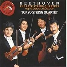 Beethoven – Late String Quartets – Tokyo String Quartet (3 CDs)