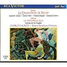 Berlioz – La Damnation De Faust ; Debussy -La Demoiselle Élue (2 CDs) – Charles Munch