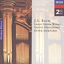 J.S. Bach – Great Organ Works – Peter Hurford (2 CDs)