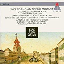 Mozart – Missa Brevis K. 275 – Litaniae Lauretanae K. 195 – Concentus Musicus Wien
