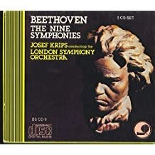 Beethoven – The Nine Symphonies – Josef Krips (5 CDs)