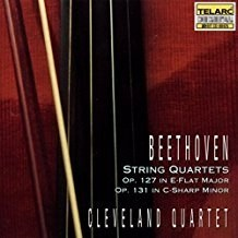 Beethoven – String Quartets, Op. 127 in E-Flat Major & Op. 131 in C-Sharp Minor – Cleveland Quartet
