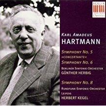 Hartmann: Symphony No. 5, 6 and 8 – Gunther Herbig