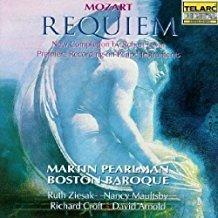 Mozart – Requiem = Martin Pearlman