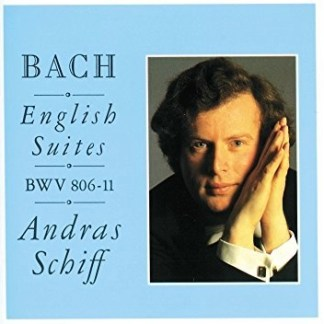 J.S. Bach – English Suites BWV 806-811 – Andras Schiff (2 CDs)