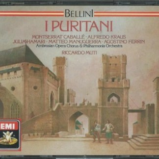 Bellini – I Puritani – Riccardo Muti (3 CDs)