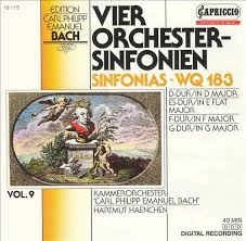 CPE Bach – Vier Orchester-Sinfonien