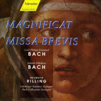 C.P.E. Bach – Magnificat – J.N. Bach – Missa Brevis – Helmuth Rilling