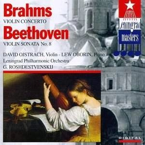 Brahms – Violin Concerto – Beethoven – Sonata for Violin & Piano 8 – David Ojstrach