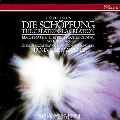 Joseph Haydn – Die Schopfung – Sir Neville Marriner (2 CDs)