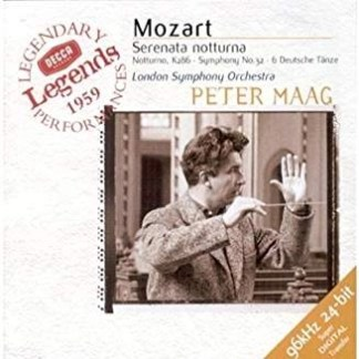Mozart – Serenata Notturna – Notturno – Peter Maag