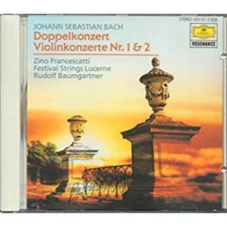 Bach – 2 Violin Concertos – Zino Francescatti