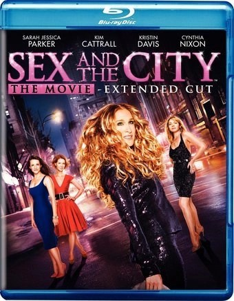 Sex and The City The Movie (Extended Cut) (Blu-Ray)
