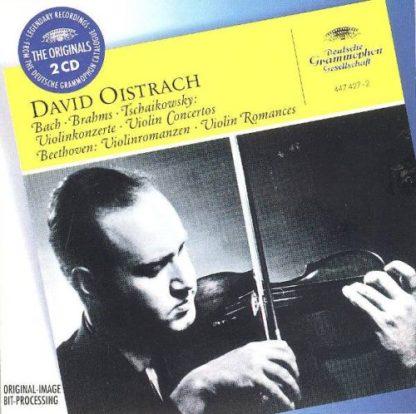 David Oistrach – Bach, Brahms, Tchaikowsky  (2 CDs)