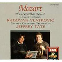 Mozart Horn Concertos Nos. 1-4 – Jeffrey Tate