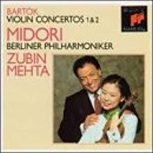 Bartok – Violin Concertos No.1 & No.2 – Midori,- Zubin Mehta