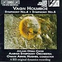 Holmboe – Symphony, No. 4; Symphony, No. 5 – Owain Arwel Hughes