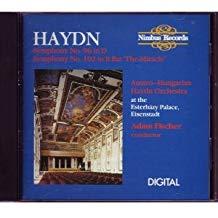 Haydn – Symphonies 96 & 102 Austro-Hungarian Haydn Orchestra – Adam Fischer (Nimbus)