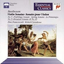 Beethoven –  Violin Sonatas 5 & 9 (Essential Classics)