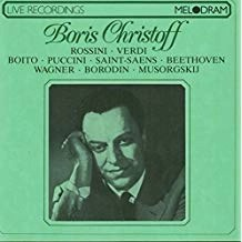 Boris Christoff – Recital