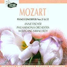 Mozart Piano Concertos Nos. 21 & 22 – Annie Fischer