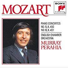 Mozart Piano Concertos Nos. 15 & 16 – Murray Perahia