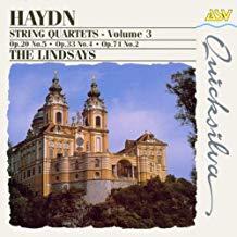 Haydn – 3 String Quartets – The Lindsays
