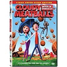 Cloudy with a Chance of Meatballs – A Sony Animation Film (DVD) FF WS