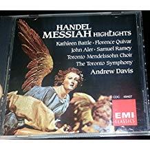 Handel – Messiah Highlights – Kathleen Battle