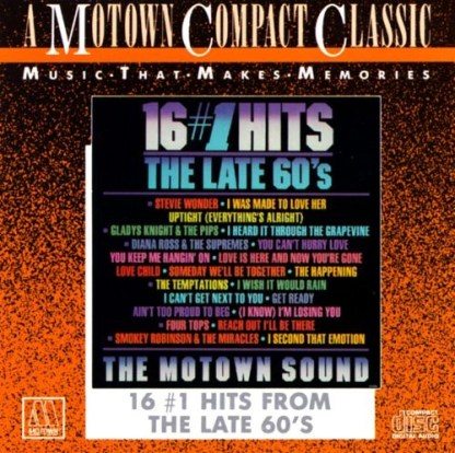 Motwon 16 #1 Hits – The Late 60's