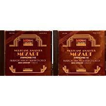 Mozart – Symphonies 1-8 & 9-15 Erich Leinsdorf 2 CDs