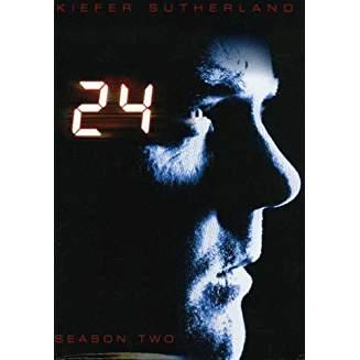 24 Season 2 – Kiefer Sutherland DVD TV Show Box Set)