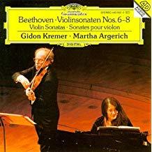 Beethoven – Violin Sonatas Nos. 6-8 – Gidon Kremer, Martha Argerich