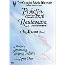 Cologne Music Triennale – Prokofiev Piano Concerto No. 3 – Rautavaara Isle of Bliss – Oramo, Mustonen, City of Birmingham Symphony Orchestra (DVD)