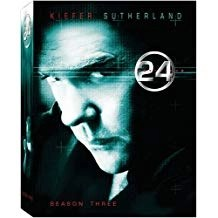 24 Season 3 – Kiefer Sutherland DVD TV Show Box Set)