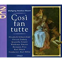 Mozart – Cosi Fan Tutte – Karl Bohm (2 CDs)