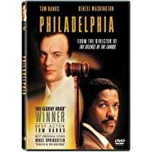Philadelphia – Tom Hanks, Denzel Washington (DVD) PG13 WS