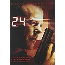 24 Season 5 – Kiefer Sutherland DVD TV Show Box Set)