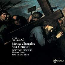 Liszt – Missa Choralis – Via Crucis – Corydon Singers'