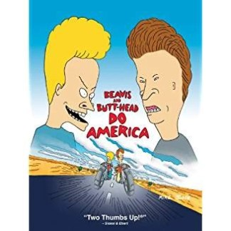 Beavis and Butthead Do America WS R