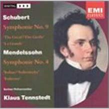 Mendelssohn, Scubert Symphonies – Klaus Tennstedt