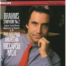 Brahms Symphony 2; Academic Festival Overture – Riccardo Muti