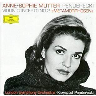 Penderecki Violin Concerto No. 2, etc – Anne-Sophie Mutter