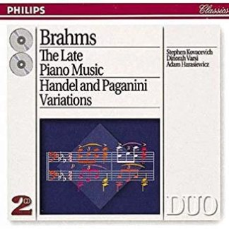 J. Brahms – The Late Piano Music – Stephen Kovacevich (2 CDs)