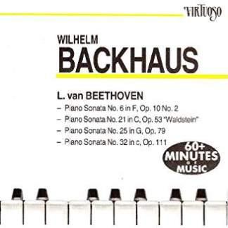Wilhelm Backhaus – L. van Beethoven
