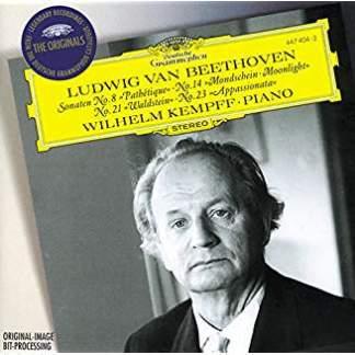 Beethoven: Piano Sonatas Nos.8, 14, 21 & 22 – Wilhelm Kempff