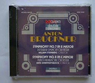 Bruckner – Symphony No. 7 in E Major; Symphony No. 8 in C Minor  – Hans Knappertsbusch